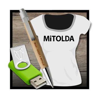 MiTOLDA'S WERBEMiTTEL